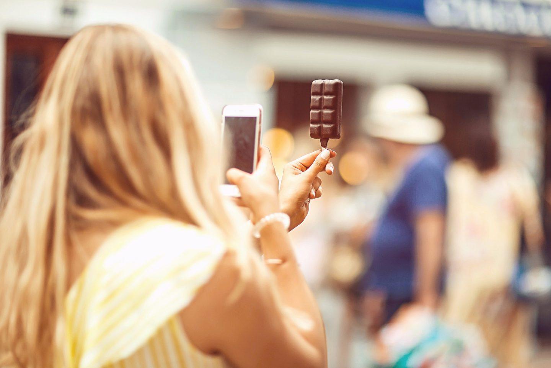 Glace tablette de chocolat Bargeton