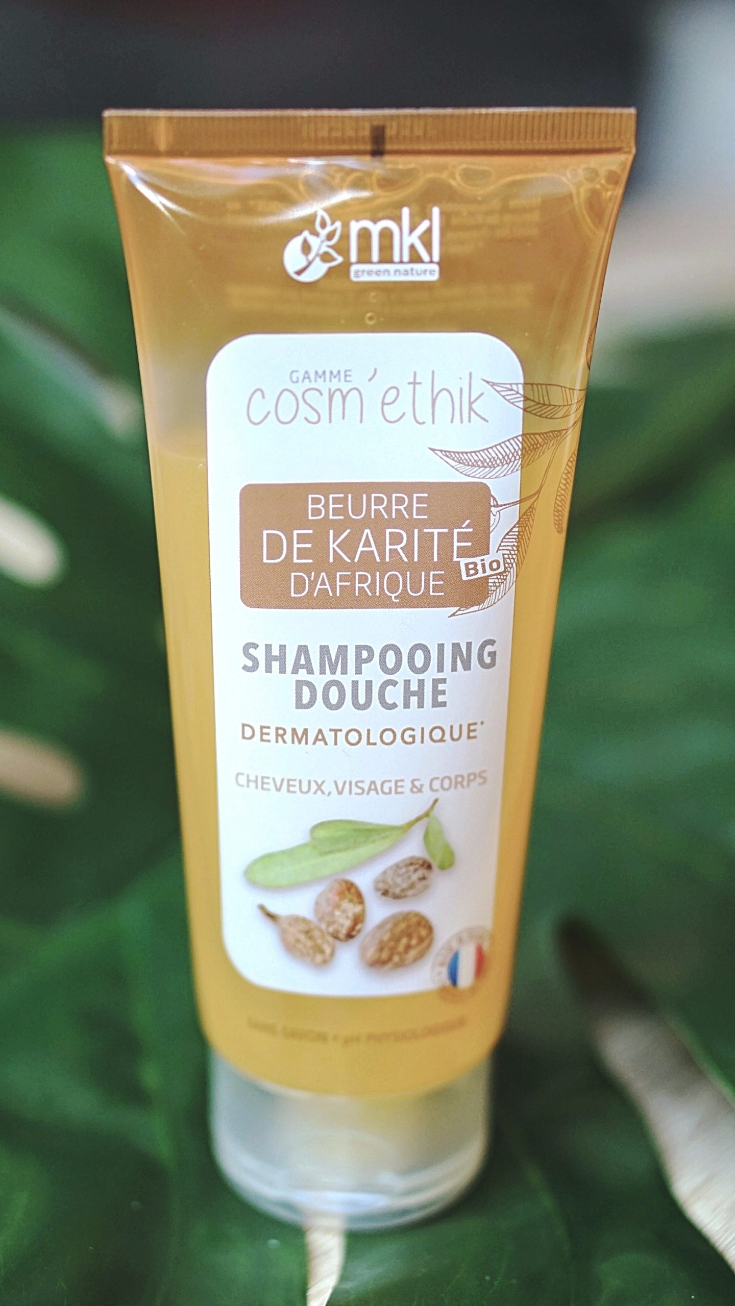 MKL Green Nature Cosm'ethik Shampooing Douche Aloe Vera Karité