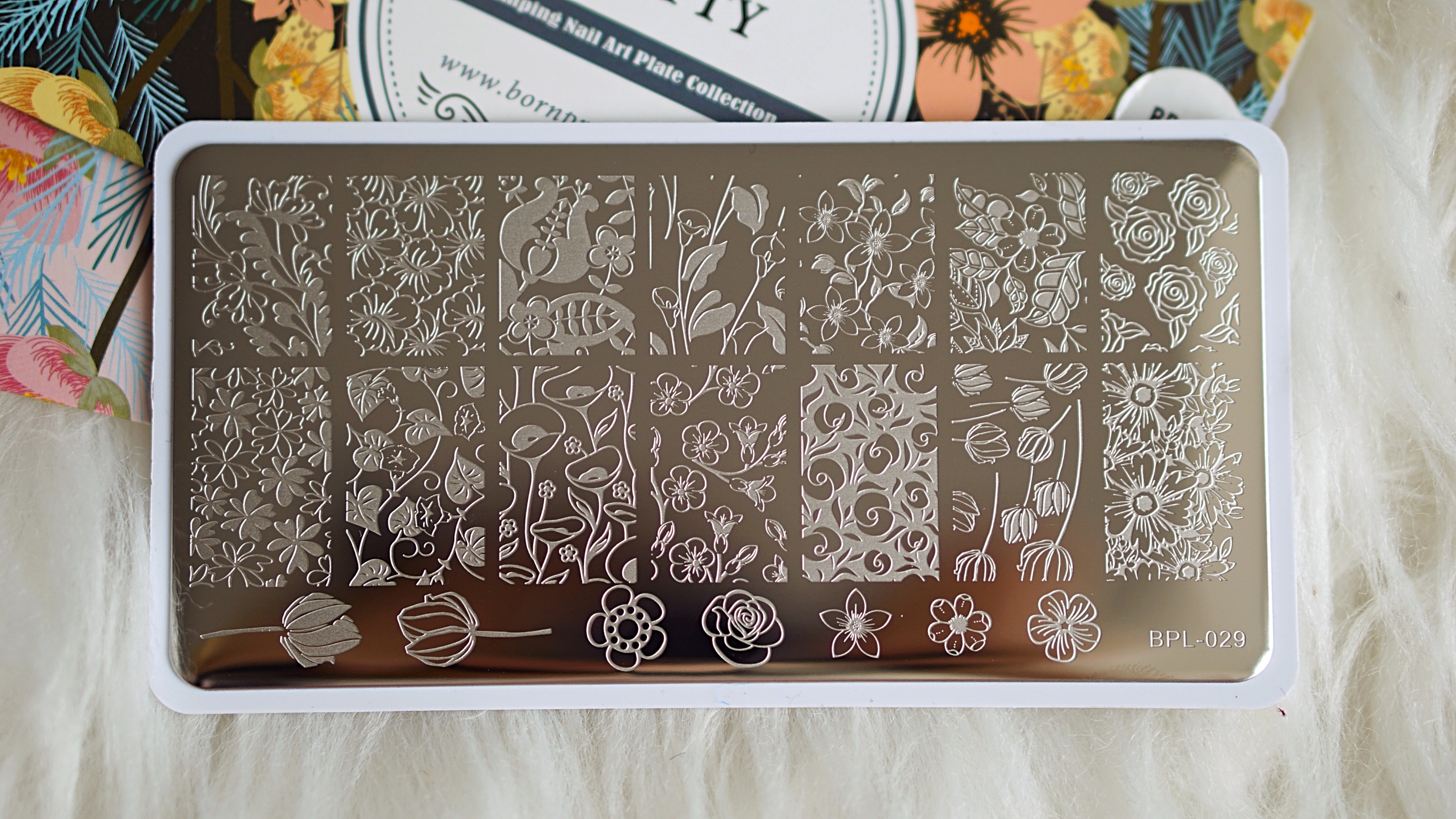 Neejolie Nail art Stamping
