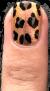 Nail art leopard BonjourBlondie