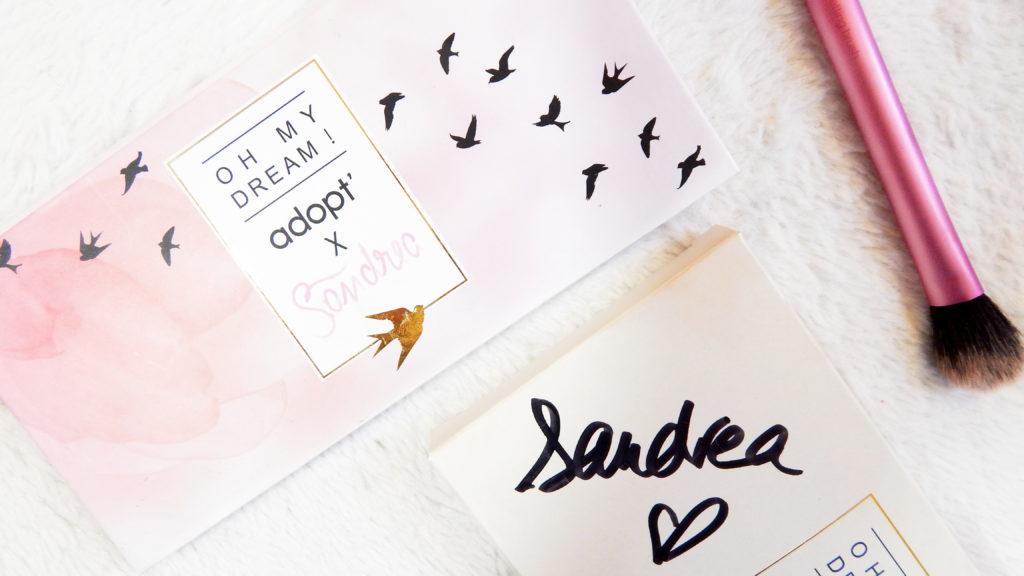 REVUE   La palette Oh my dream ! Adopt' x Sandrea