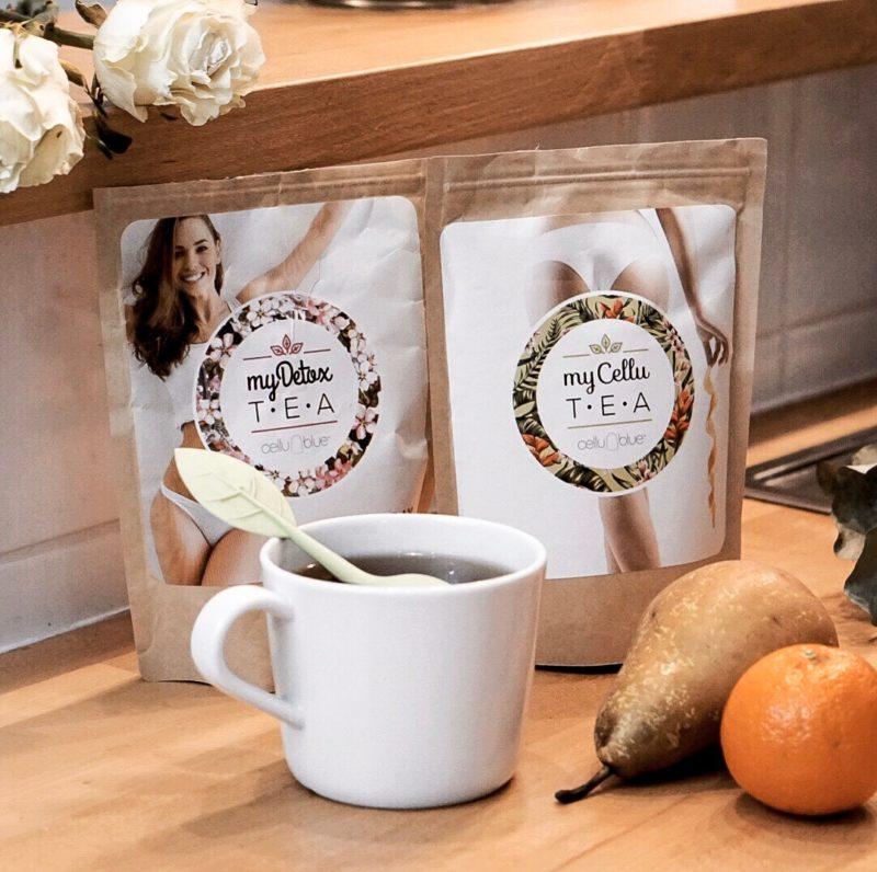 Cure thé détox cellueblue