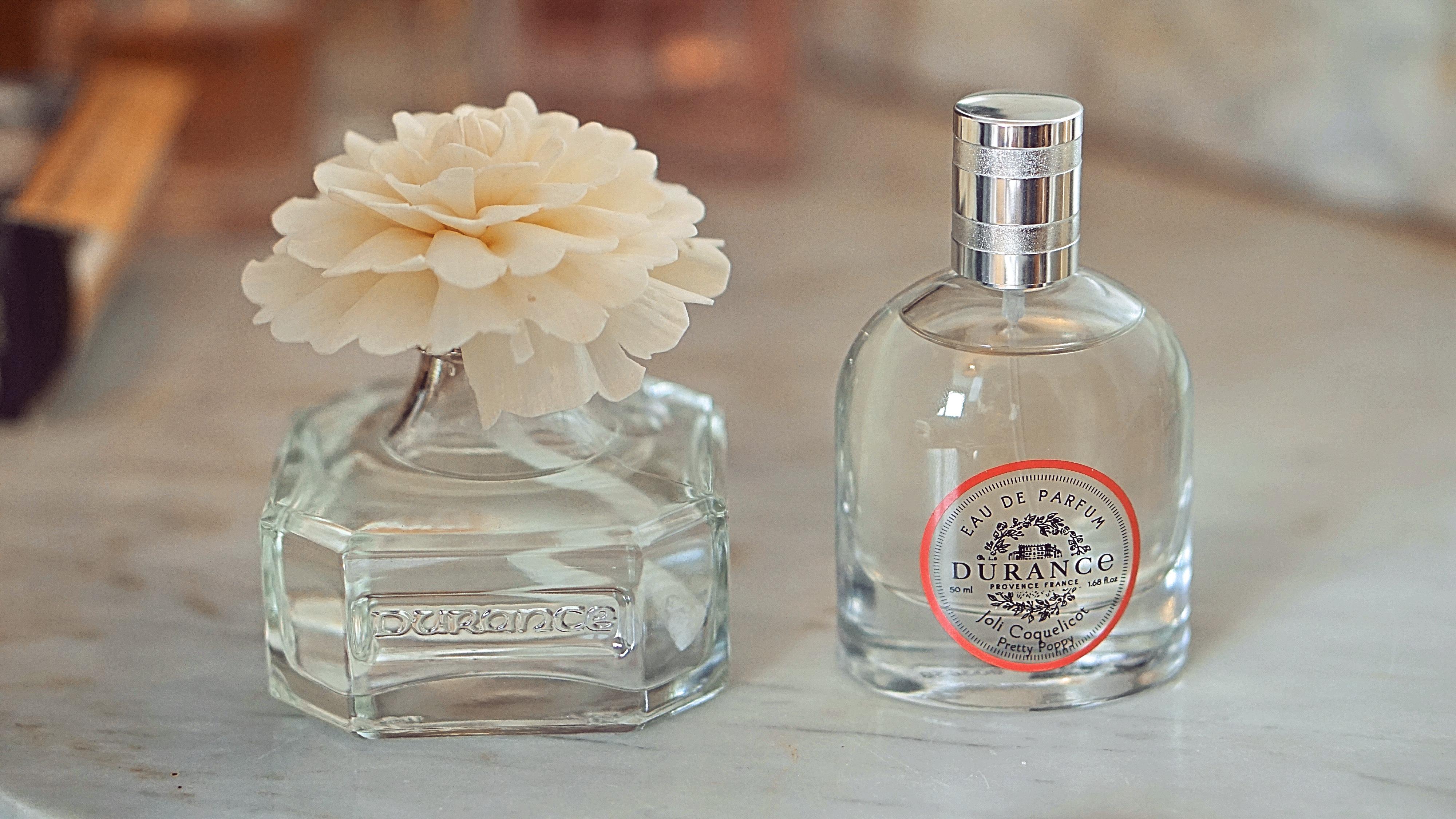 Durance Eau de Parfum Coquelicot et Parfum d'intérieur