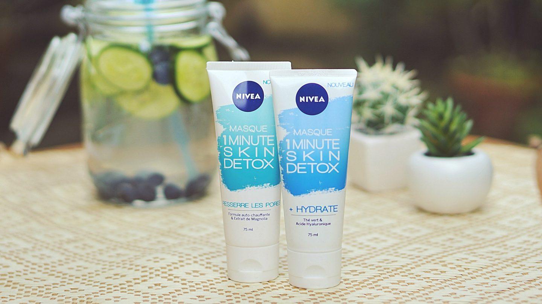Masque Nivea Skin Detox 1 minute hydrate et resserre les pores