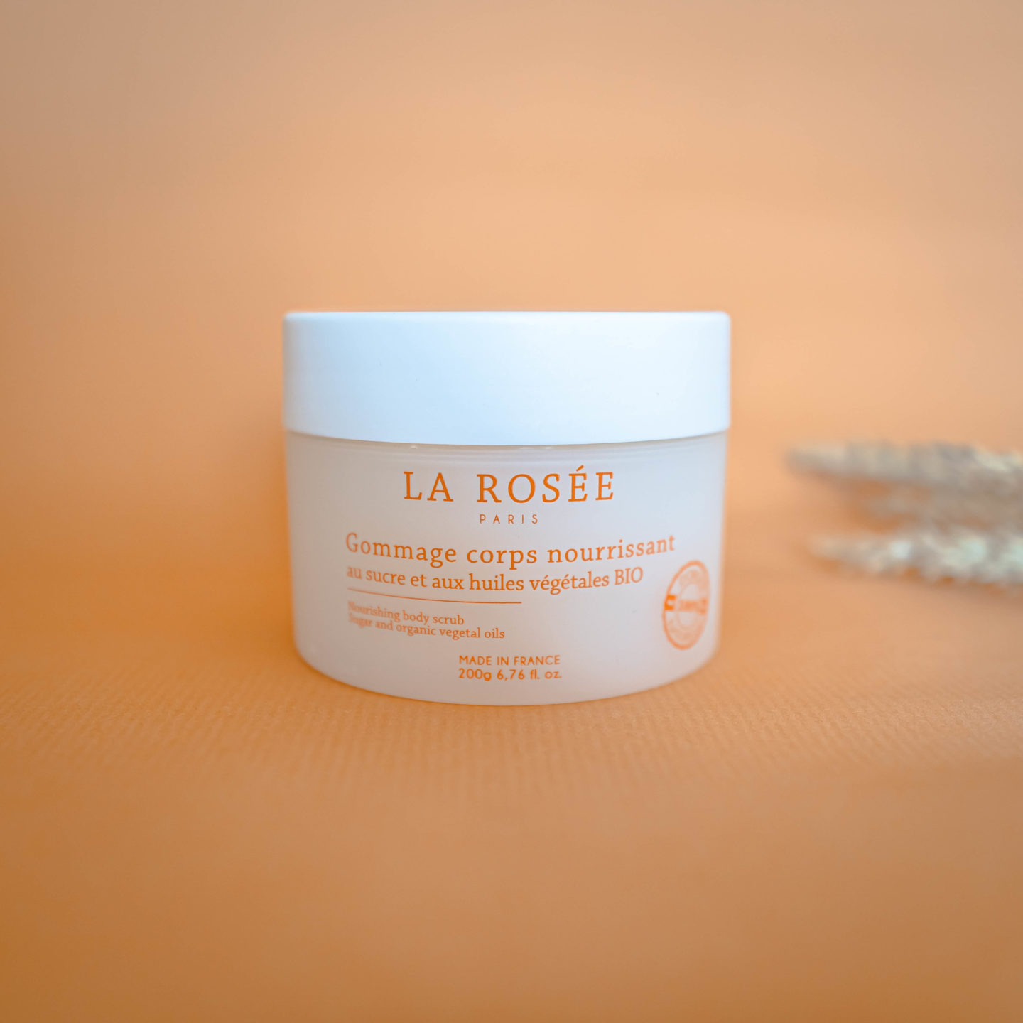 La Rosée gommage corps made in france bio