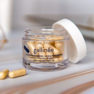 Gallinée peau microbiome